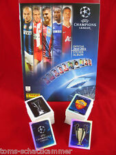 Panini Champions League 2010/2011 Satz komplett + Album = alle Sticker CL 10/11