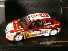 CITROEN XSARA WRC #15 2ND RALLY RACC CATALUNYA 2006 SORDO MARTI IXO RAM238 1/43