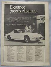 1970 Lotus Original advert No.3