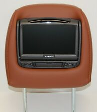 NEW 2012 Acura MDX Dual DVD Headrest Video Players - Ebony, Parchment, Umber +