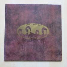 THE BEATLES Love Songs UK gatefold double vinyl LP Parlophone 1977 Mint/Mint