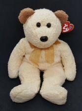 TY 2002 HUGGY the BEAR BEANIE BUDDY - MINT with MINT TAGS