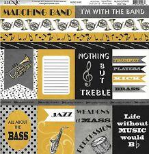 Moxxie - Music Band Cutouts Scrapbooking Paper - 1542