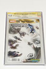 100TH ANNI: GUARDIANS OF THE GALAXY #1 FADE (2014) CGC 9.8 - Greg Horn Signed!
