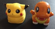 2 X Pokemon Pull Back Figures Charmander Pikachu Nintendo - Save £2 Multi-buy