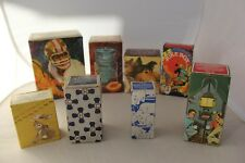 Vintage Lot of 8 Avon Collectible Perfume Cologne After Shave Soap In Boxes!