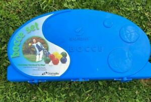 Bocce Ball Set with Carrying Case - Sportcraft Gamelife - FAST SHIPPING