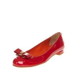 RRP €170 SAINT-HONORE PARIS SOULIERS Ballerina Shoes Size 35 UK 2 US 5 Varnished