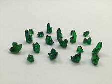 Warhammer 40K Necron Basing Crystals Dark Green (x20) Custom Made Parts