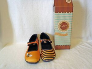 womens hot chocolate designs shoes size HCD 39 honey bee stripe Size 9