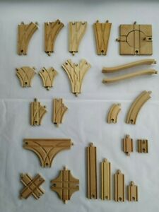 Brio Big Jigs Thomas Wooden train track - Select you track type / Combination
