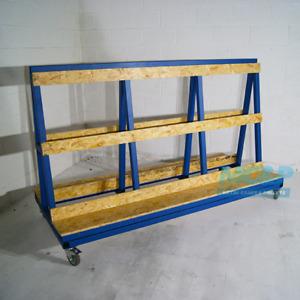 Large A Frame Glass Stillage Trolley - Made in the UK - £399+VAT