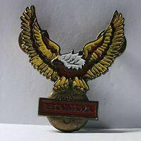 Motorcycle badge honda eagle solid brass and enamel pin badge 50*40mm