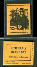 GB 1975 DN73 10p Aug Postal Uniforms Stitched Booklet