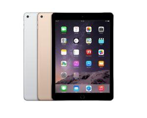 Original Unlocked Apple iPad Air 2 16GB/32GB/64GB/128GB WiFi+ Cellular, Warranty
