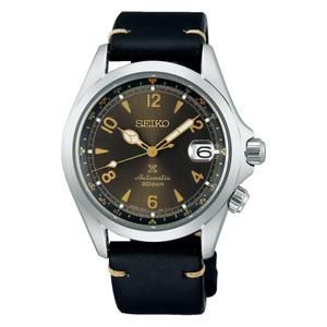 Seiko Prospex Alpinist 39.5 MM SS Leather Bracelet Automatic Watch SPB209J1