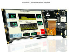5 Inch Tft Lcd Display Module 800x480 Withssd1963resistive Touch Paneltutorial