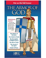 Armor of God : Put on the Full Armor by Rose Publishing Staff (2005, Stapled)