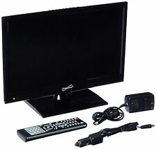 "15"" INCH HD LED TV 12v VOLT PORTABLE CAR KIT DC/AC TV DVD PLAYER COMBO NEW"