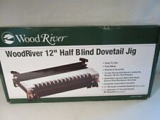 """WoodRiver 12"""" Dovetail Jig with Rabbited & Half-Blind Dovetail Joints Template"""