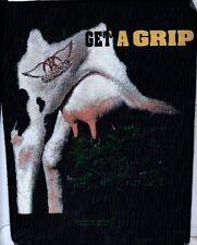 AEROSMITH sew on backpatch  original 1993  STEVE TYLER