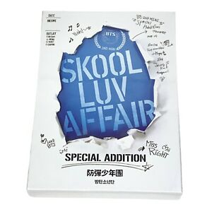 BTS Skool Luv Affair Special Addition CD + 2DVD + Photobook+ PhotoCard + US Sell