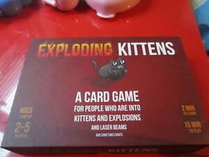 Exploding Kittens Card Game.