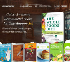 For New Vegetarians : How to Go Meatless and Love It! Self-Help Guide, 20% Off !