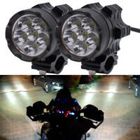 IPX6 1 pair Universal 6LED Motorcycle Motorbike headlights  Spotlight Motos Bulb