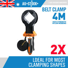 2x Corner Clamp Adjustable Holding Strap Band Frame Wood Timber Picture Framing