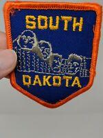 South Dakota Mount Mt Rushmore Shirt Jacket Hat Patch VTG State Souvenir Travel