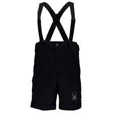 Spyder Training Ski Skiing Shorts XXL 2XL Black Thinsulate Suspenders New w Tags