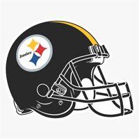 Pittsburgh Steelers H NFL Logo Die Cut Vinyl Decal Buy 1 Get 2 FREE
