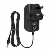 6V 2A AC/DC Adapter UK Plug Power Supply Mains 5.5mm x 2.1mm / 5.5mm x 2.5mm