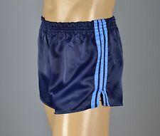ADIDAS Glanz Nylon Shorts!!!  Vintage Short Sporthose Dunkelblau-Gr.:L-6  (1191)