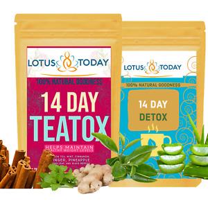 Detox Tea Weight Loss Tea & Night Cleanse Tea Complete Tea set Slimming Diet Tea