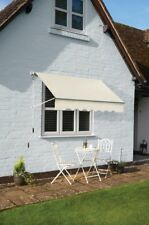Gablemere Oakley 0.913m W x 1.98m D Awning, White