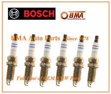 6-BMW SPARK PLUGS BOSCH OEM 2006+ 3-5-X Series E60,E90,N51,N52 FR7NPP332