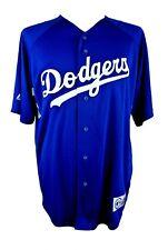 Majestic Mens Large Blue LA Dodgers MLB Jersey Vintage