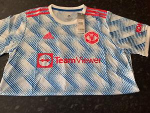 Adidas Manchester United Away Shirt 2021-22, (XL) BNWT