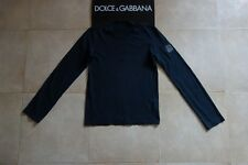 Dolce&Gabbana Black Label Runway LOGO T-shirt Sweatshirt 48 IT (S-M) MadeInItaly