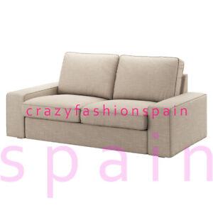 IKEA KIVIK Cover two-seat sofa, Hillared beige