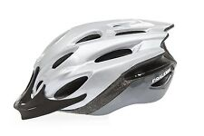 Raleigh Mission EVO Cycle Casque Vélo Argent Medium 54 - 58 cm