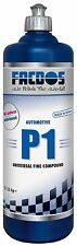 FACDOS P1 Universal Fine Compound 1000 ml PROFI-POLIERPASTE Lack-Aufbereitung
