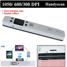 iScan Cordless Wifi Portable HD 1050DPI Handyscan Document Photo JPG/PDF SY
