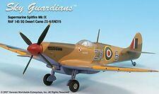 Spitfire Mk IV RAF 145SQ ZX-6/EN315 Airplane Miniature Model Metal Die-Cast 1:72