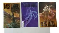 KIA ASAMIYA'S DARK ANGEL #1, 2 & 3. CPM MANGA 1999 Series 3 COMIC LOT. VF