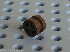 Roue pour cannon LEGO PIRATES OldBrown wheel 4624 / 6285 10040 6271 6274 6277...