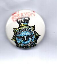 SAXON Strong Arm Of The Law BUTTON BADGE English Heavy Metal Band  80s  25mm PIN
