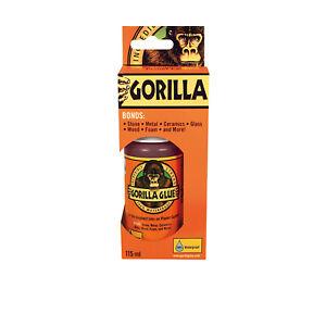 Gorilla Glue All Purpose Adhesive 115ml Waterproof with Incredible Strength
